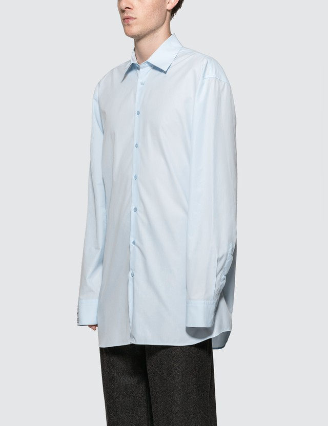 Raf Simons Embroidered Logo Shirt