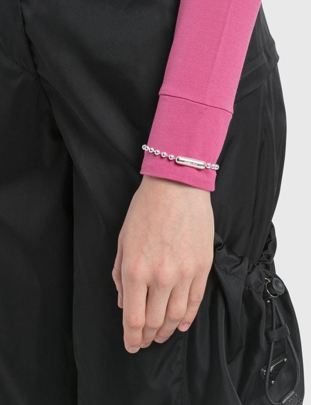 Ambush Ball Chain Bracelet Silver Women