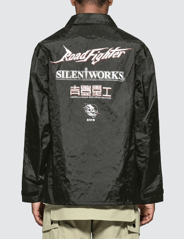 Guerrilla-group Roll Call Coach Jacket