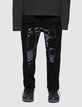 C2H4 Los Angeles Form Cropped Sweatpants Picture