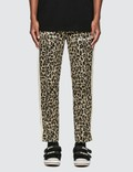 Palm Angels Leopard Track Pants Picutre