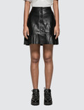 Ganni Rhinehart Leather Skirt Picutre