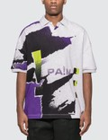 Alexander Wang Oversize Printed Jersey Polo Picutre
