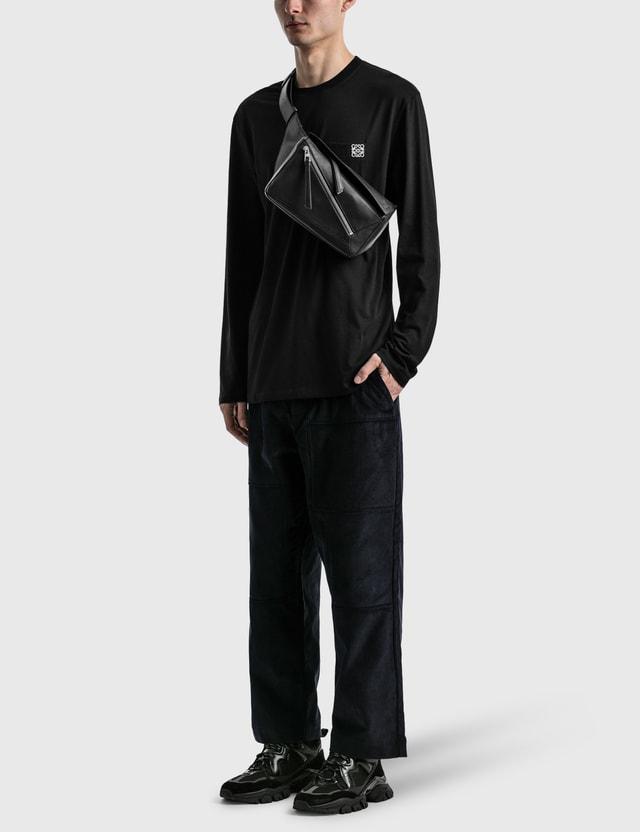 Loewe Anagram Long Sleeve T-shirt Black Men