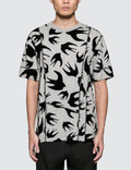 McQ Alexander McQueen Cut Up Coverlock S/S T-Shirt Picture