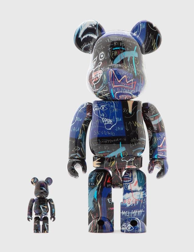 Medicom Toy Be@rbrick Jean Michel Basquiat #7 100%&400%set