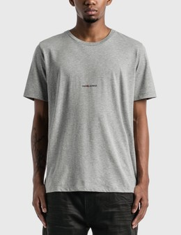 Saint Laurent Saint Laurent Logo T-Shirt