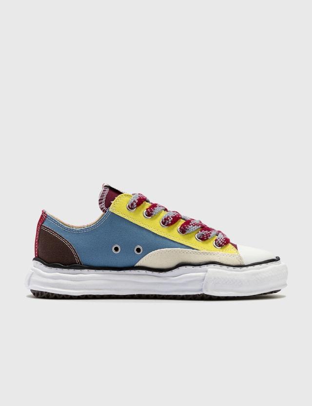 Maison Mihara Yasuhiro Original Sole Multicolor Canvas Low Cut Sneaker Multi Men