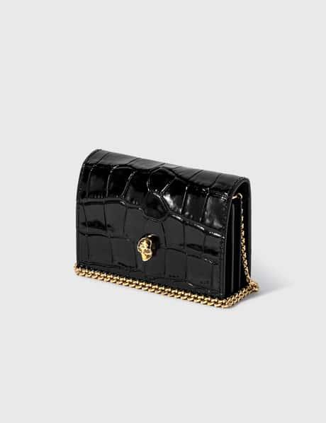 알렉산더 맥퀸 Alexander McQueen Card Holder On Chain