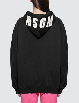 MSGM Basic Logo Hoodie