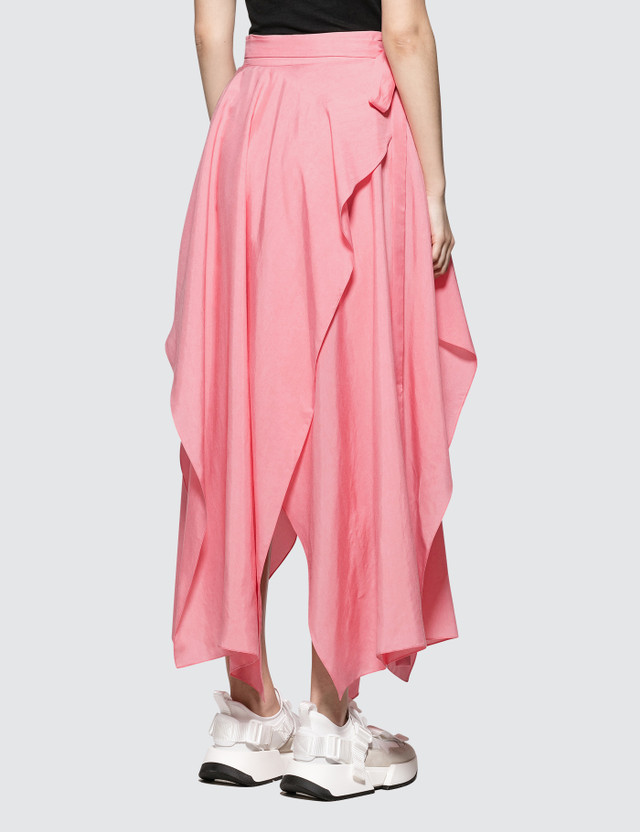 JW Anderson Handkerchief Skirt Bubblegum Women