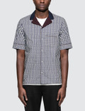 Valentino Optical Cotton Bowling Shirt Picture