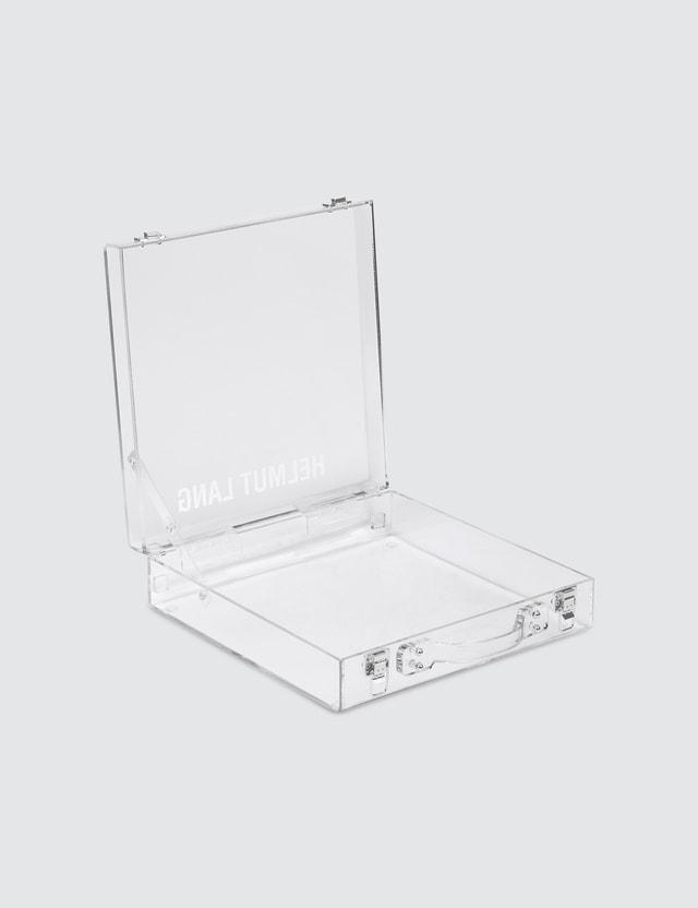 Helmut Lang Lucite Briefcase