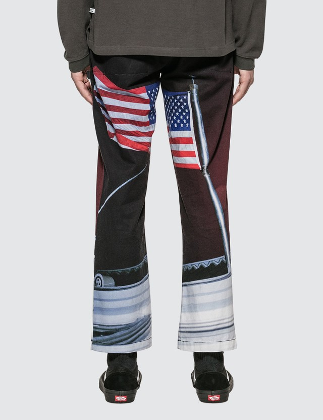Thisisneverthat American Flag Work Pants