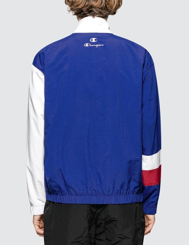 Champion Reverse Weave Striped Panel Track Jacket
