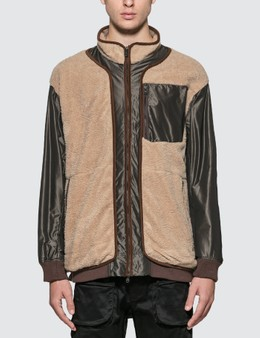 White Mountaineering GORE-TEX Infinitum W Stitched Quilted Boa Jacket