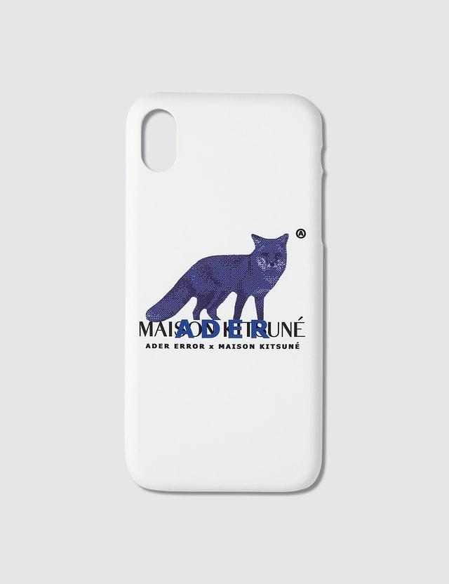 Maison Kitsune Ader Error x Maison Kitsune Bitmap Fox Case
