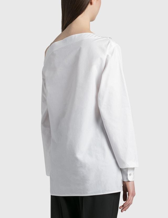 Coperni Heart Motion Shirt Optic White Women