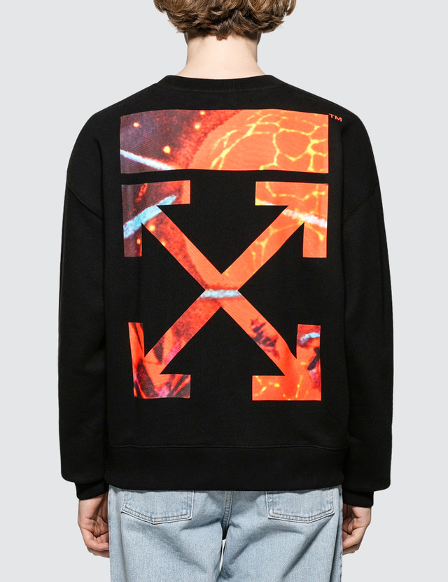 Off-White Hands And Planet Over Sweatshirt