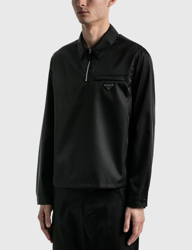 Prada Re-Nylon Jacket Nero Men
