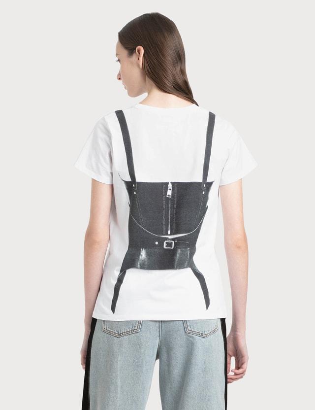 Alexander McQueen Tromp Printed T-Shirt White Women