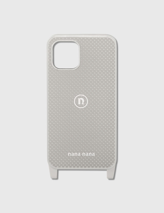 Nana-nana Punching Metal iPhone 11 Pro Case Light Grey Unisex