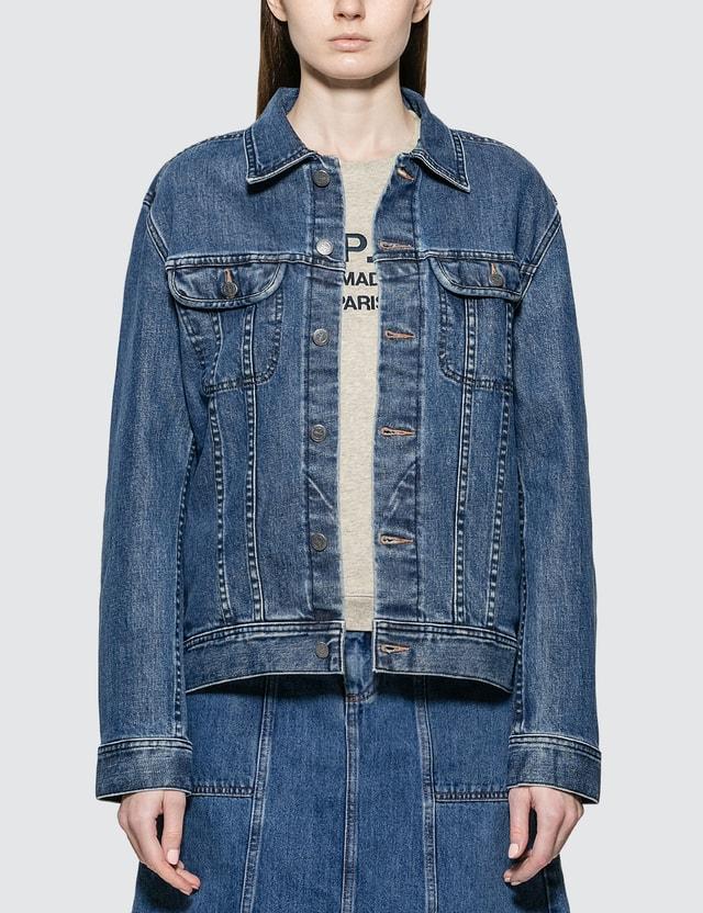 A.P.C. Classic Stretch Denim Jacket