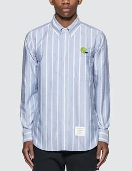 Thom Browne Tennis Ball Icon Oxford Shirt