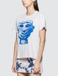 Ashley Williams Blue Stone Head Short Sleeve T-shirt