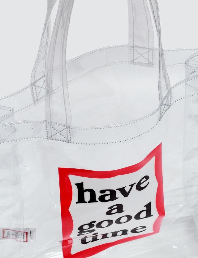 Have A Good Time Pvc Frame Bag