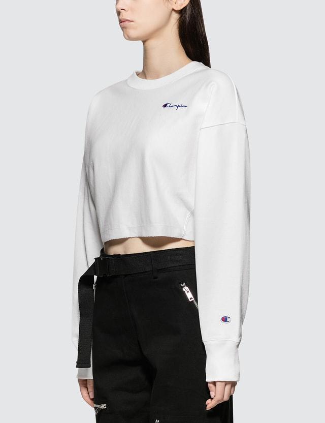 Champion Reverse Weave Cropped Crewneck Sweatshirt