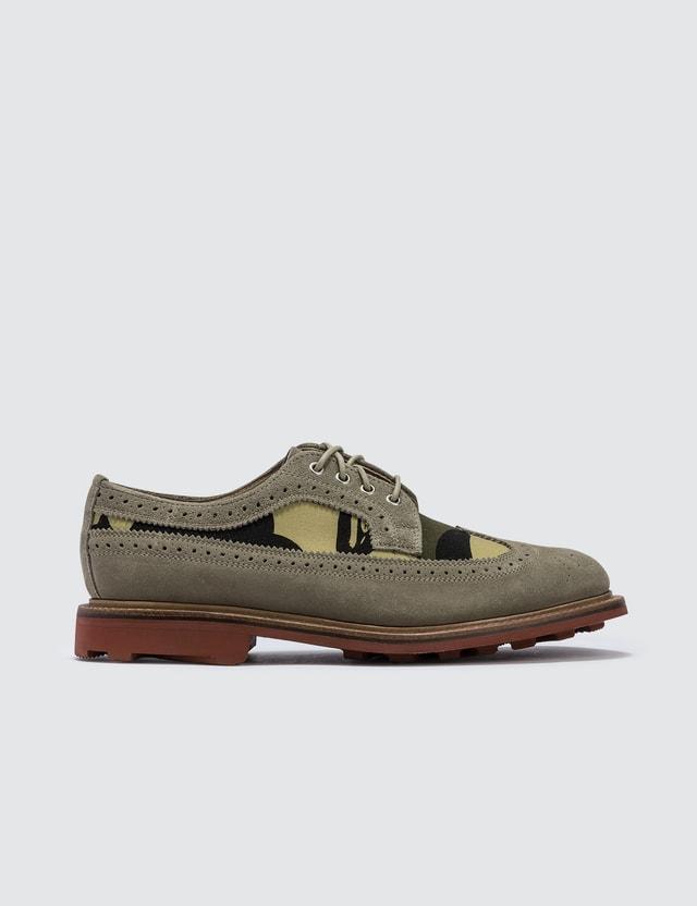 BAPE Bape Suede Shoes Camo