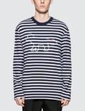Maison Kitsune Fox Logo Print L/S T-Shirt Picture