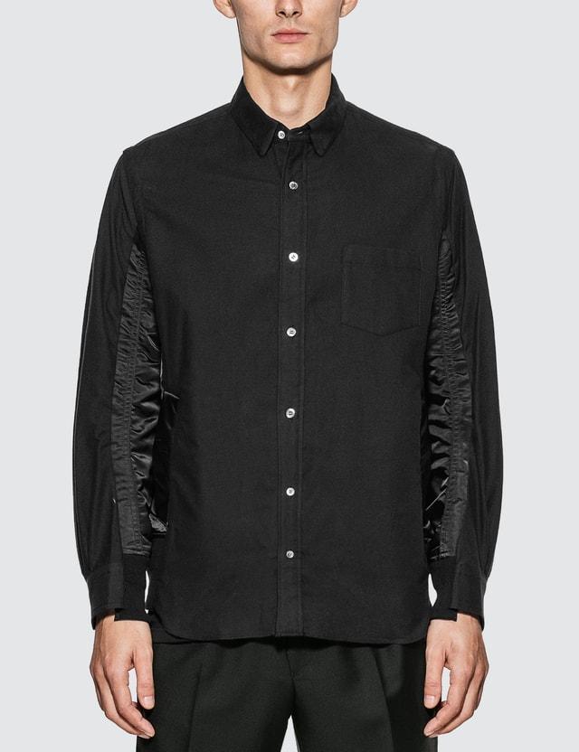 Sacai MA-1 Insert Shirt Black Men