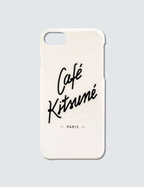 메종 키츠네 <카페 키츠네 컬렉션> 아이폰8 케이스 Maison Kitsune Cafe Kitsune Iphone 8 Case