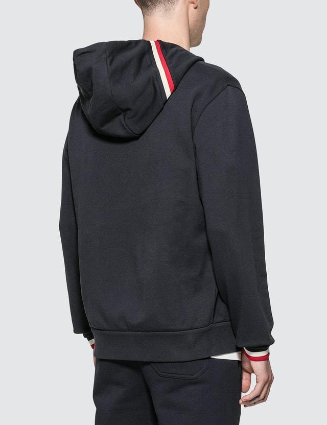 Moncler Full Zip Hoody With Contrast Hood