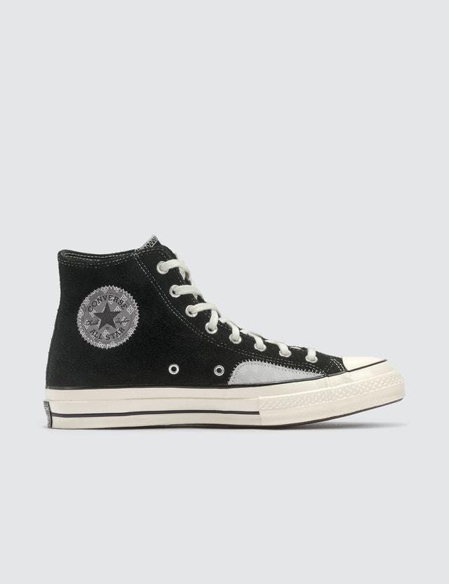 Converse Chuck 70 Hi Black/mouse/egret Women