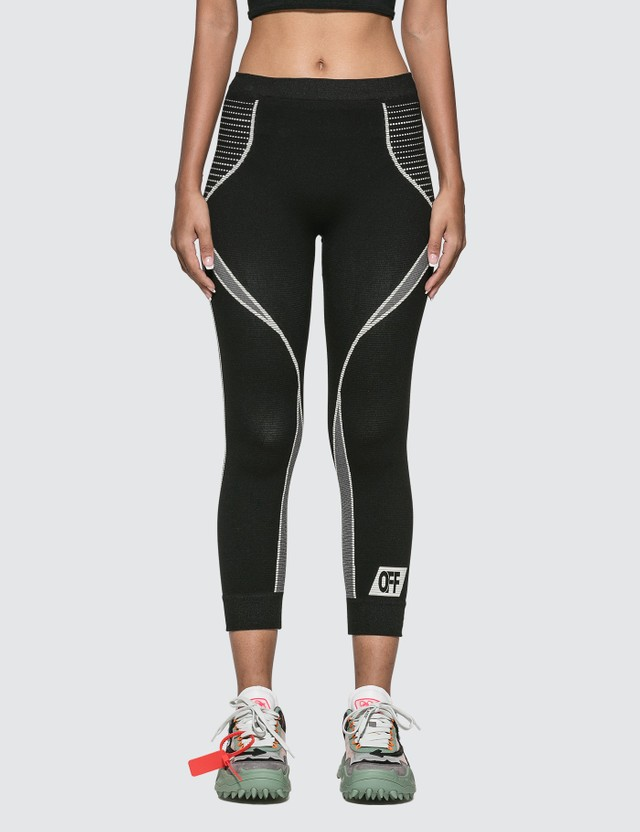 Off-White Athletic Cropped Leggings