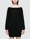 Alexander Wang.T Bi-layer Knit Dress with Inner Tank Picutre