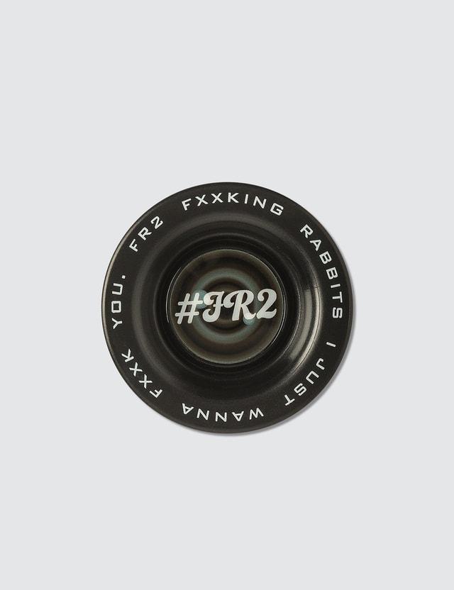 #FR2 Fxxking Rabbit Black Yo-yo Toy