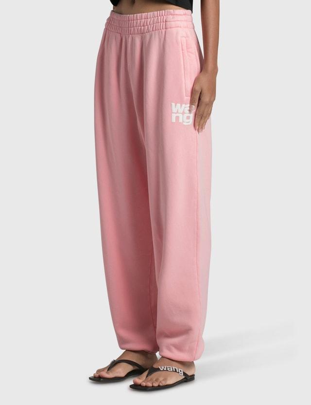 Alexander Wang.T Structured Terry Classic Sweatpants Sunbleach Desert Flower Women