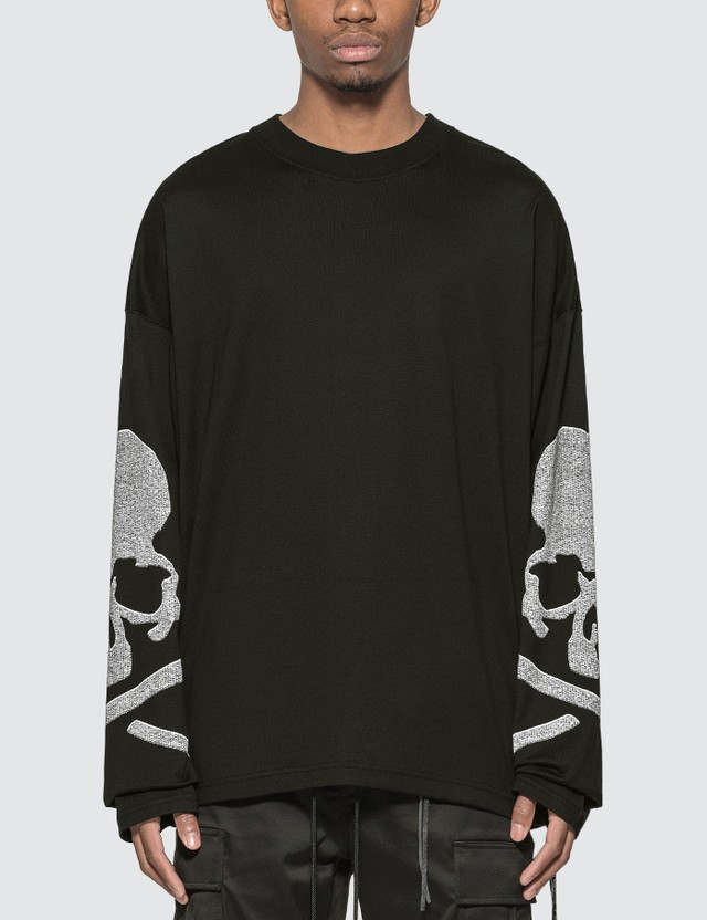 Mastermind World Skull Print Long Sleeve T-shirt