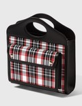 Burberry Mini Tartan Nylon and Leather Pocket Bag Picture