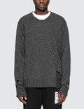 Maison Margiela Gauge Destroyed Jersey Sweater Picture