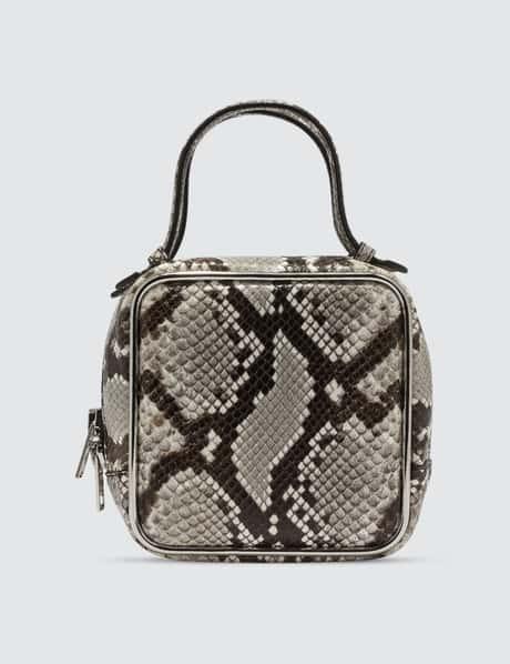 알렉산더 왕 헤일로 탑핸들백 - 스네이크 프린트 Alexander Wang Halo Handbag With Snake Print
