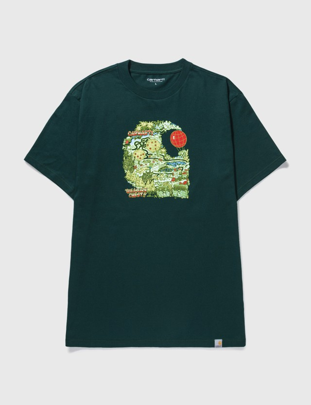 Carhartt Work In Progress Treasure C T-shirt Deep Lagoon Men