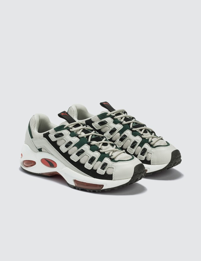 Puma Cell Endura Glacier Grey/high Risk Red Men