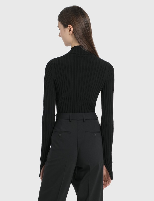 Helmut Lang Stretch Viscose Cutout Pullover