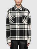 Off-White Stencil Flannel Shirt Picture