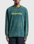 Thisisneverthat Acid Washed Long Sleeve T-Shirt 사진